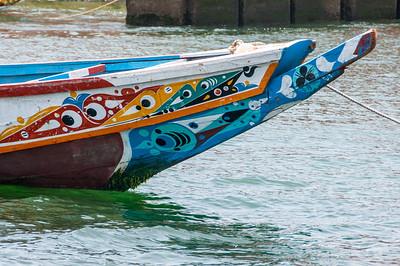Fishing boat in Dakar, Senegal