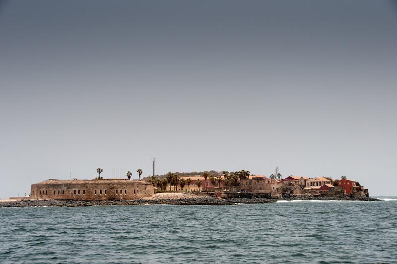 Fort D'Estrees in Goree Island, Dakar, Senegal