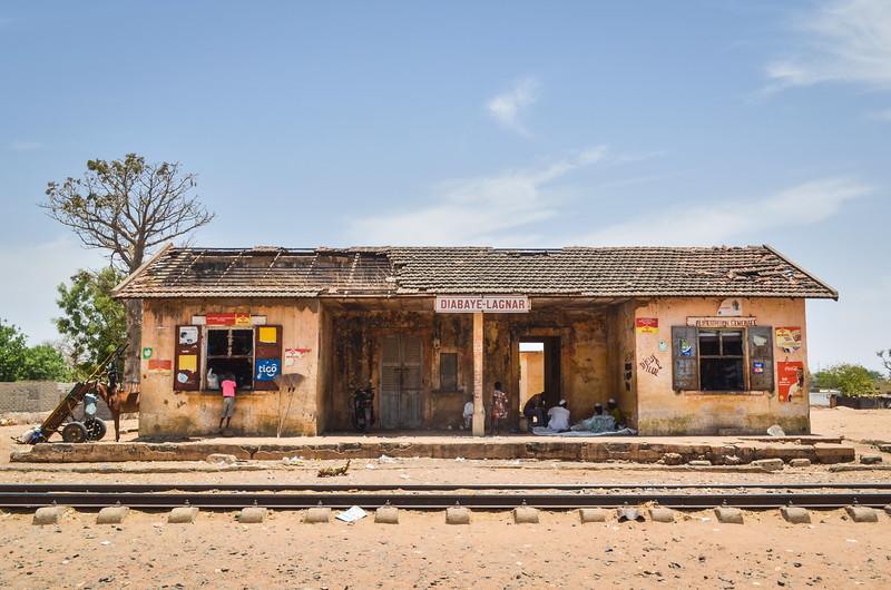Train station on the Dakar-Bamako railway