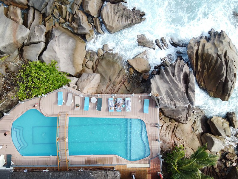 patatran hotel on la digue seychelles