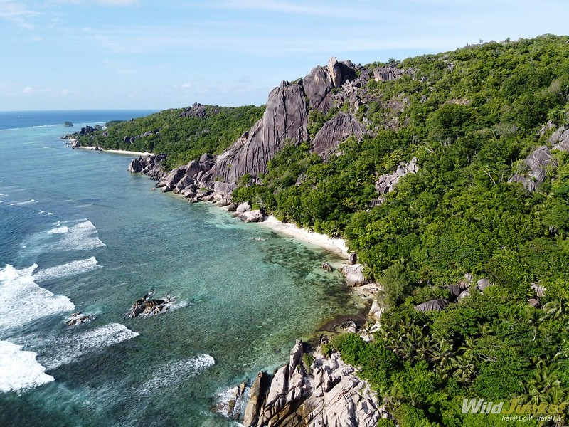 blog seychelles - view from plane