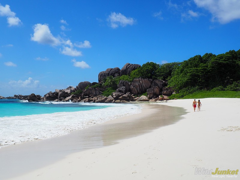 grand anse on la digue - highlight of our seychelles itinerary