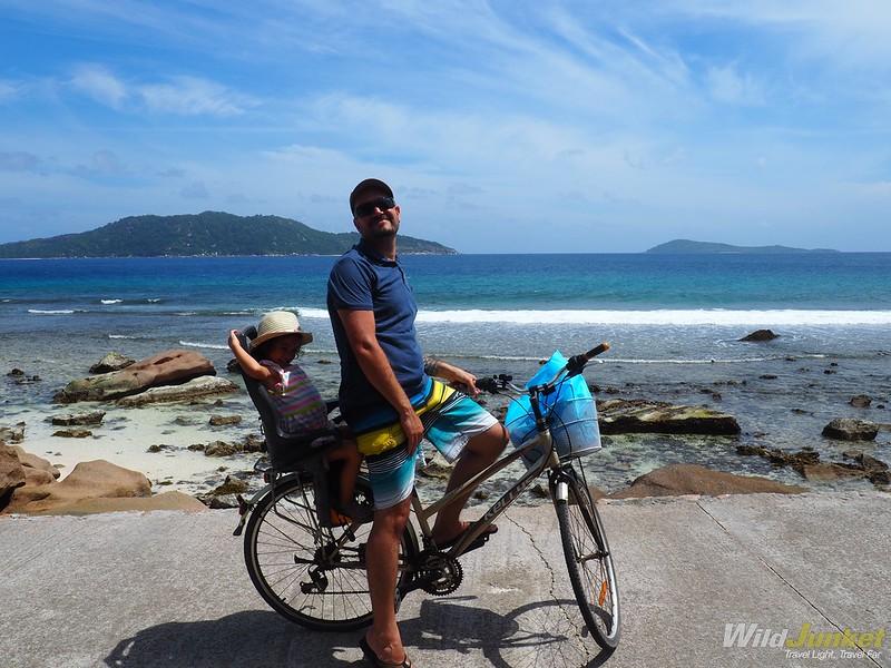 cycling around la digue - seychelles itinerary ideas