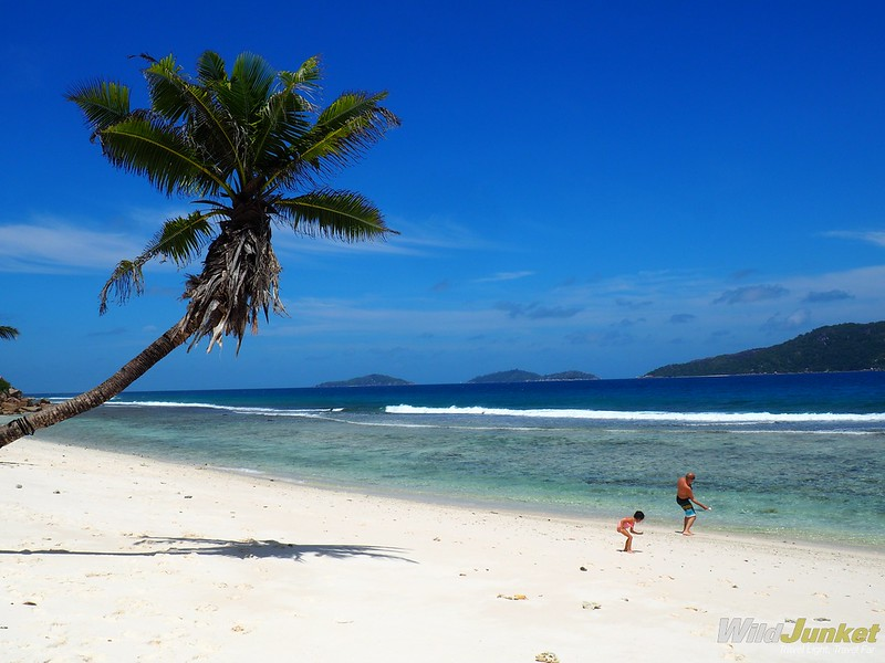 anse banane on la digue, one of the best islands to stay in seychelles