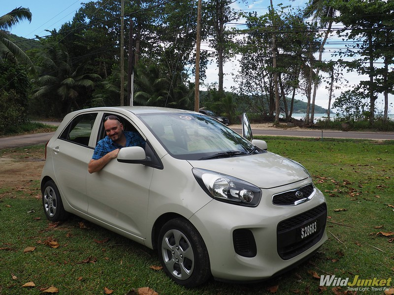 how to get around seychelles - car rental