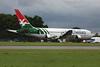 "N767HS Boeing 767-204ER ""Leasing Company"" c/n 24013 Kemble/EGBP 17-07-09 ""Air Seychelles"""