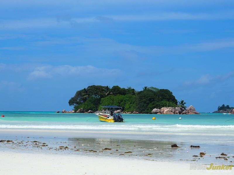 cote d'or beach on praslin - best place to stay in praslin