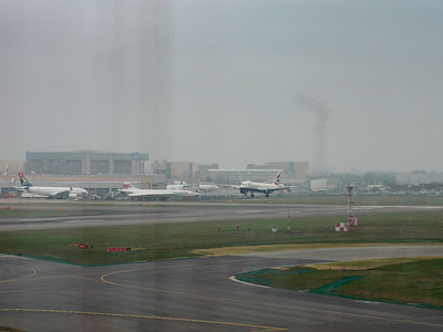 Heathrow Terminal 4 viewing area