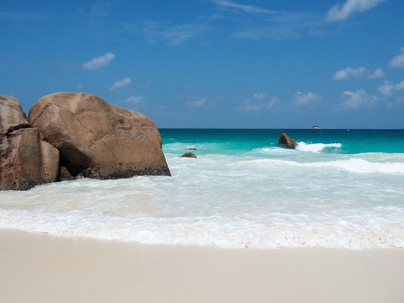 Anse Lazio on Praslin Island