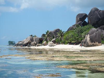 Anse Source D'Argent on La Digue in the Seychelles
