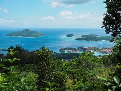 View from Mahe Island