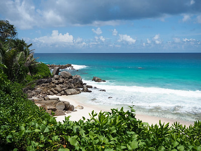Carana Beach on Mahe in the Seychelles