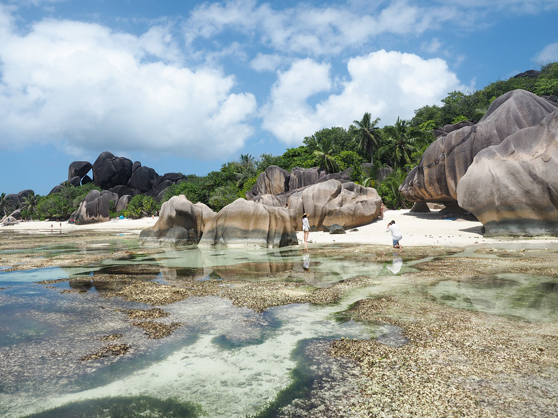 Anse Source D'Argent on La Digue