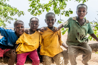Kids at the The Raining Season Orphanage in Freetown, Sierra Leone
