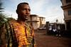 Portrait of a Sierra Leonean man on the street
