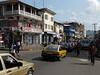 FREETOWN, SIERRA LEONE - AUGUST,2006:  Saika Stevens Street in downtown freetown.<br /> Freetown, Sierra Leone<br /> Foto: Christopher Herwig - Kod 9266