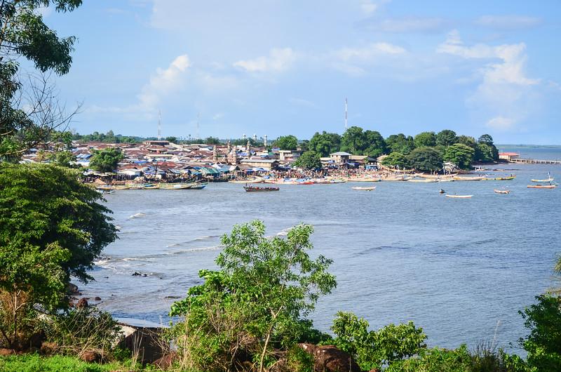 Tombo village on the Peninsular road