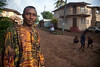 Painter Abu Mansaray<br /> Freetown, Sierra Leone<br /> Foto: Christopher Herwig - Kod 9266