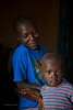 Mother and son. HIV rural health initiative. Matibabu Foundation. Ugenya, Kenya