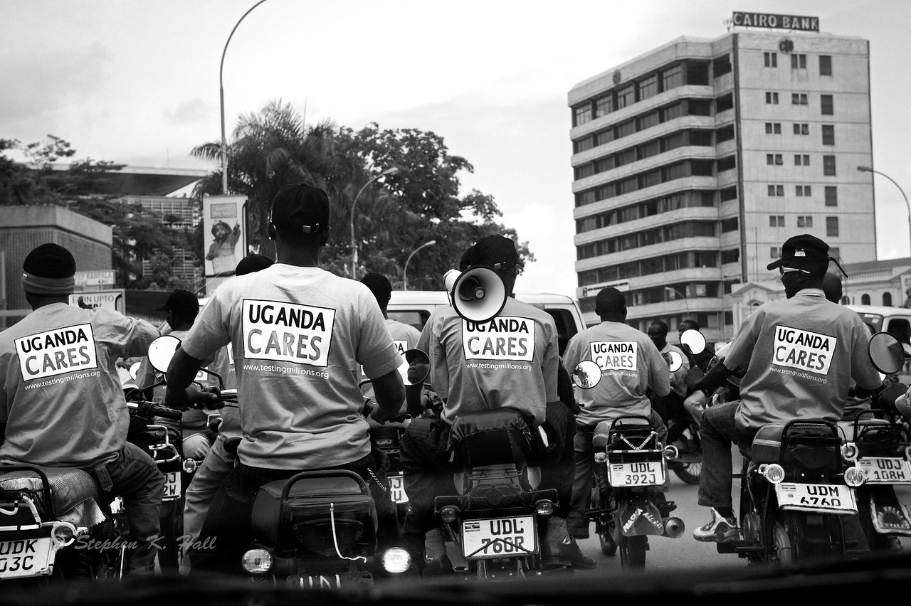 World AIDS Day. Kampala, Uganda (Alternative detail photo)