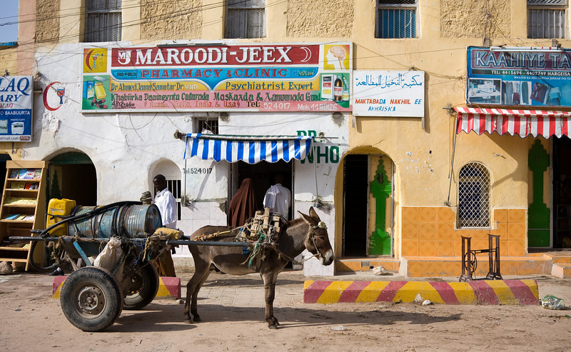 Relax!  Quality medical care isn't far away in Hargeisa.<br /> <br /> Location: Hargeisa, Somaliland<br /> <br /> Lens used: 24-105mm f4.0 IS