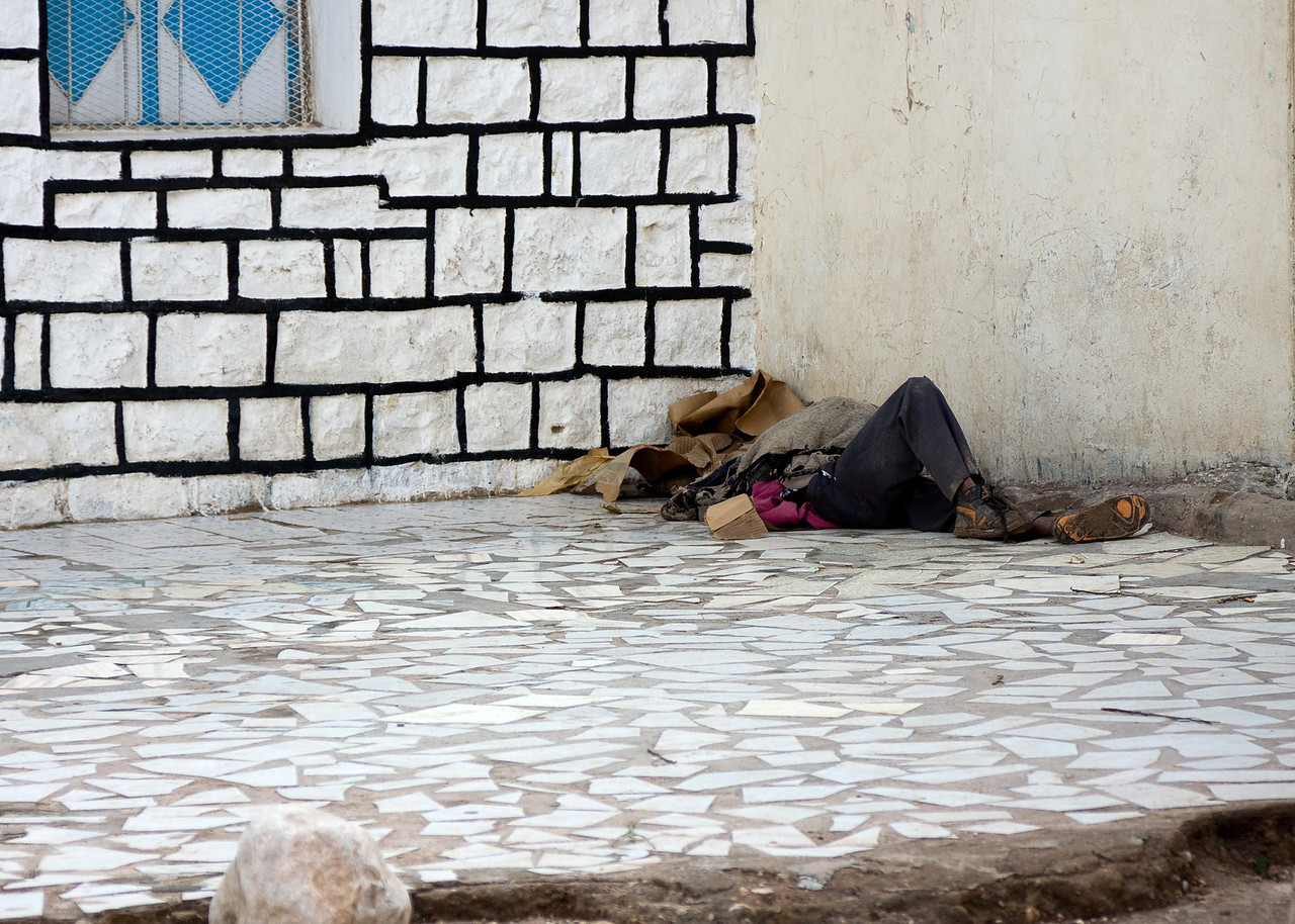 Down and out in Hargeisa.<br /> <br /> Location: Hargeisa, Somaliland<br /> <br /> Lens used: 24-105mm f4.0 IS