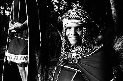 Zulu Natal  women ( Black and white)