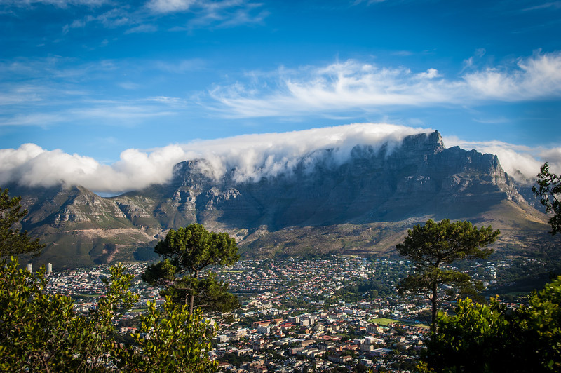 Cape Town South Africa & Table Mountain