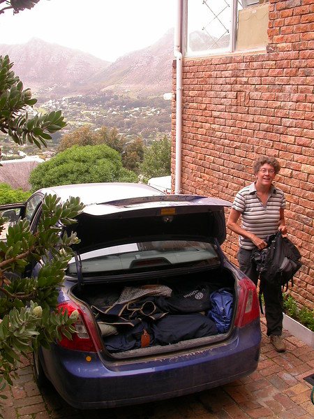 Za 0001 aankomst in Kaapstad