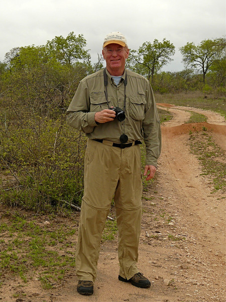 Alan Hull on safari