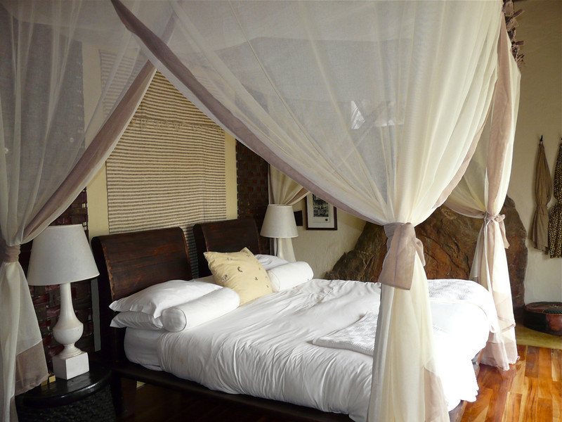 Bedroom at Madikwe Hills Private Game Lodge in South Africa