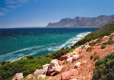 Coastal road near Cape Peninsular