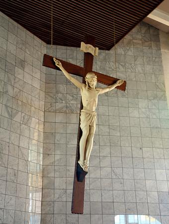 The Cross inside Regina Mundi - Soweto