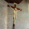 The Cross inside Regina Mundi - Soweto