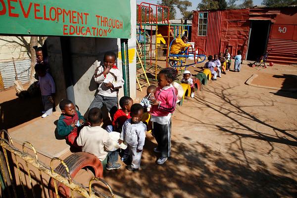 Soweto Day Care Centre - recess