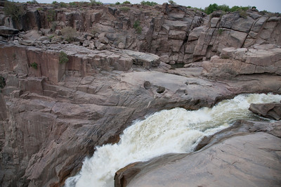 Mouth of the Augrabies Falls in Augrabies Falls National Park