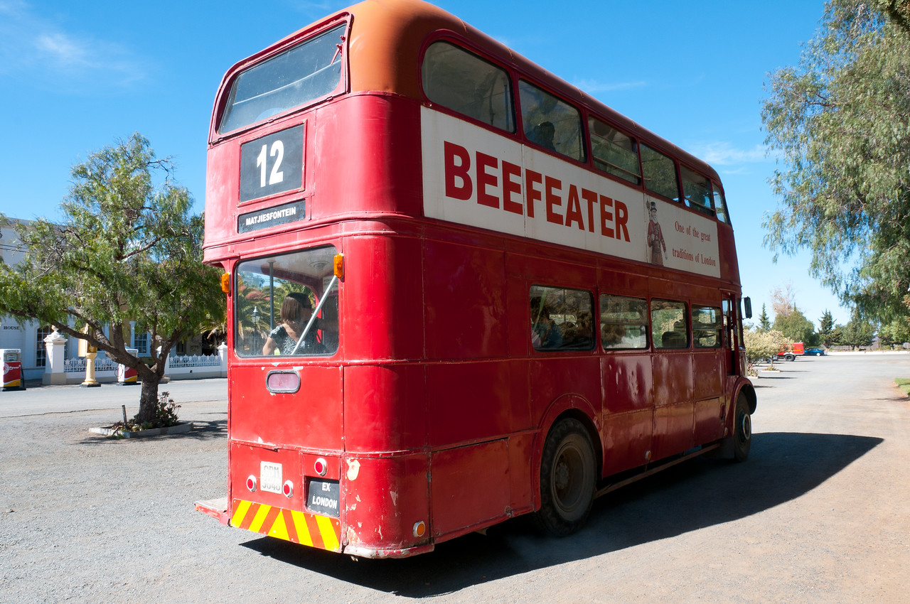 Double deck bus in South Africa