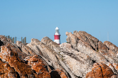 Lighthouse in Cape Agulhas, South Africa