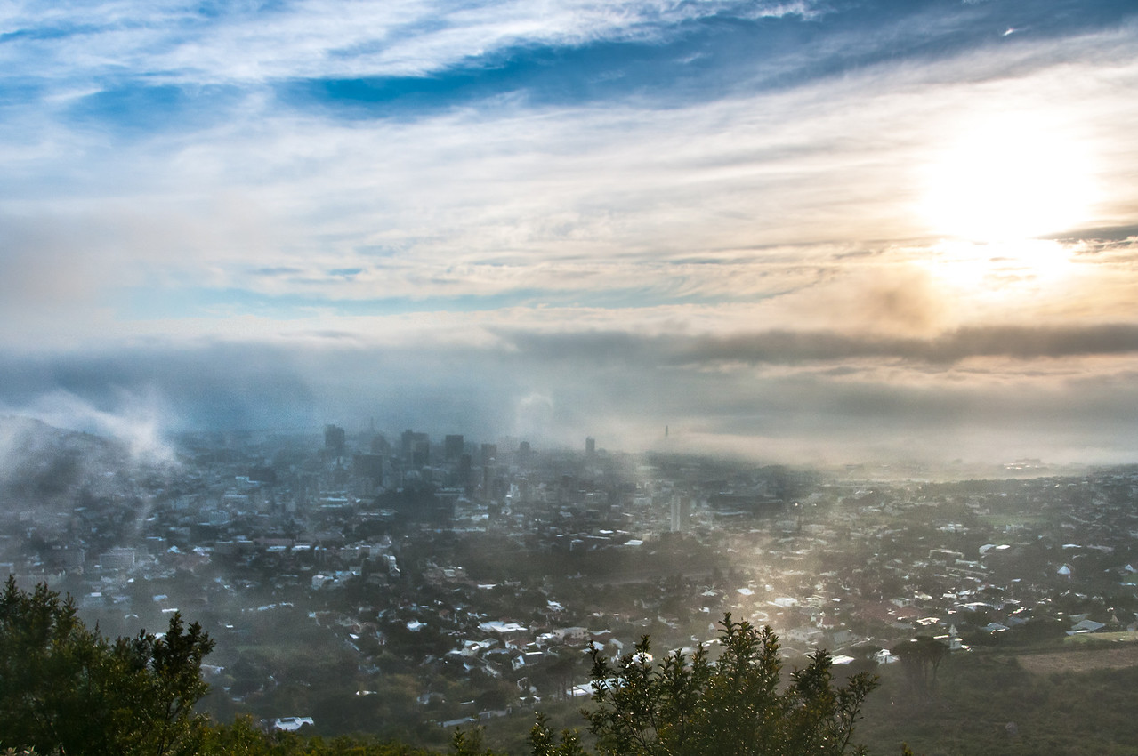 Skyline in Cape Town, South Africa