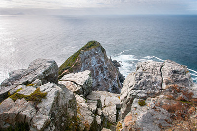 Cliffs at Cape Point in Cape Town, South Africa