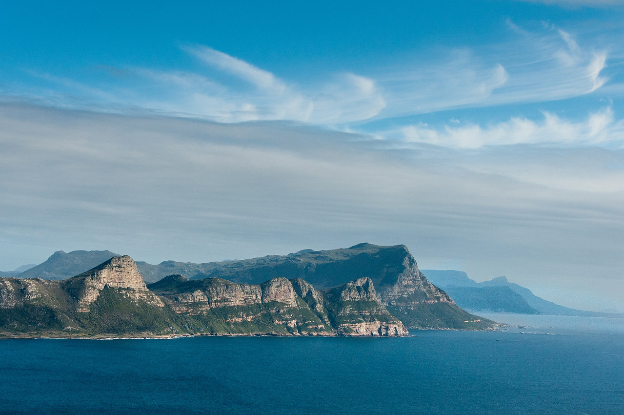 The cliffs of Cape Point in Cape Town, South Africa