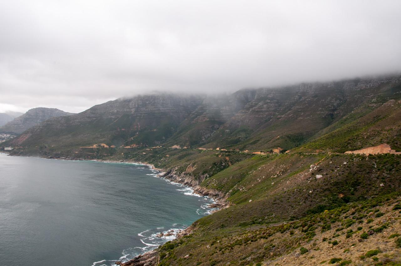 Chapman's Peak Drive in Hout Bay, Cape Town