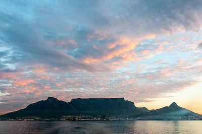 Sunset in Cape Town, South Africa