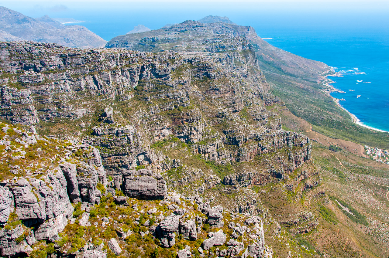 Cliffs at Cape Point, Cape Town, South Africa