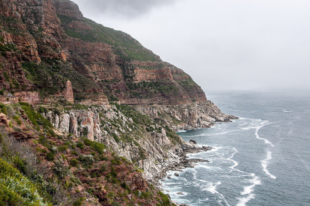 Cliffs in Cape Town, South Africa