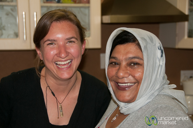 Audrey and Amina - Cape Malay Cooking Class in Bo Kaap