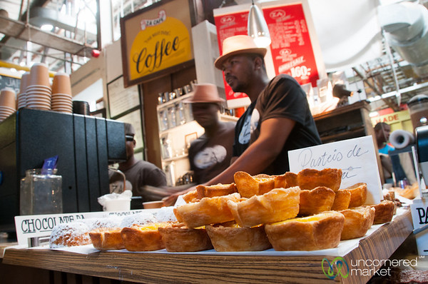 Hout Bay Weekend Market, Pastries and Coffee - Cape Town, South Africa