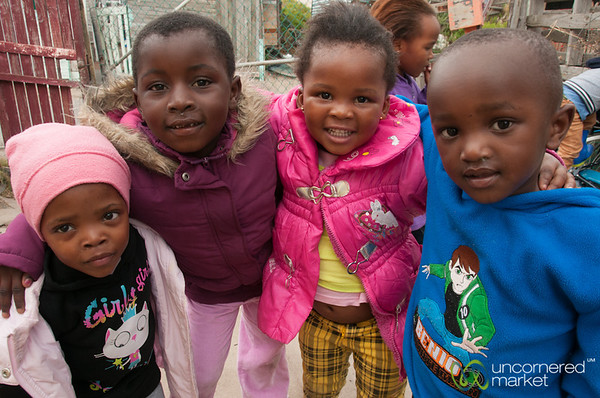 South African Kids at Masiphumelele Township - Cape Town