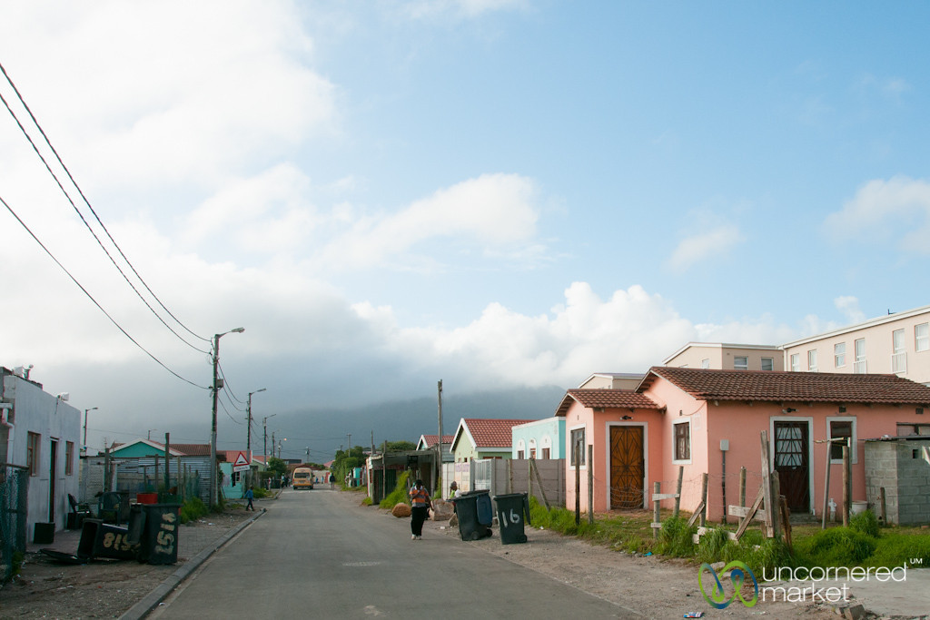 Masiphumelele Township Street Scene - Cape Town, South Africa