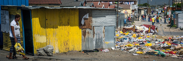 Touring the Langa Township